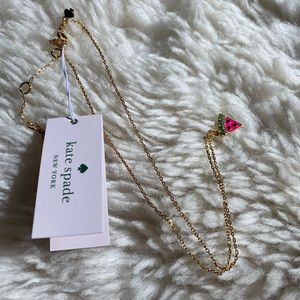 🍉 KATE SPADE 🍉 watermelon necklace NWT